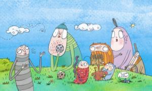 Kuflizenekar (+Odalent a fűben)