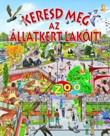 Keresd meg az állatkert lakóit!