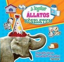 A legelső állatos készletem - Interaktív könyv kiemelhető elemekkel