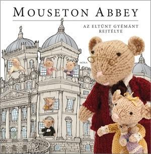 Mouseton Abbey - matricás foglalkoztatókönyv - Több mint 1000 matricával