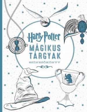 Harry Potter - Mágikus tárgyak színezőkönyv