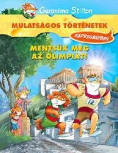 Mentsük meg az olimpiát! - Képregény