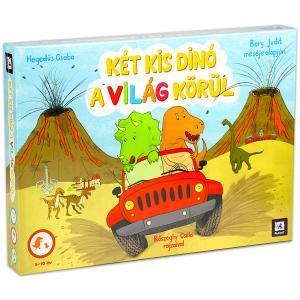 Két kis dinó a világ körül játék