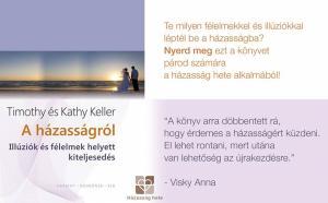 Nyerd meg A házasságról című könyvünket a párod számára egy őszinte hozzászólással