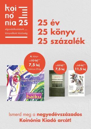 Március 25-ig 25%-os kedvezménnyel juthatsz hozzá KAF könyveihez!