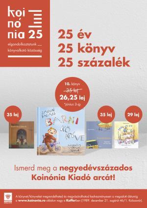25 év, 25 könyv, 25 százalék - Gyereknap Barni könyvével!