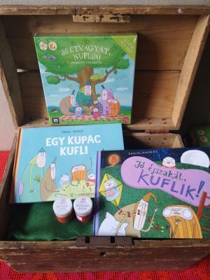 Nagy olvasó- és játszó csomagok a karantén vakációra